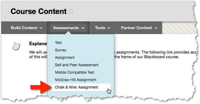 C&W assessment type