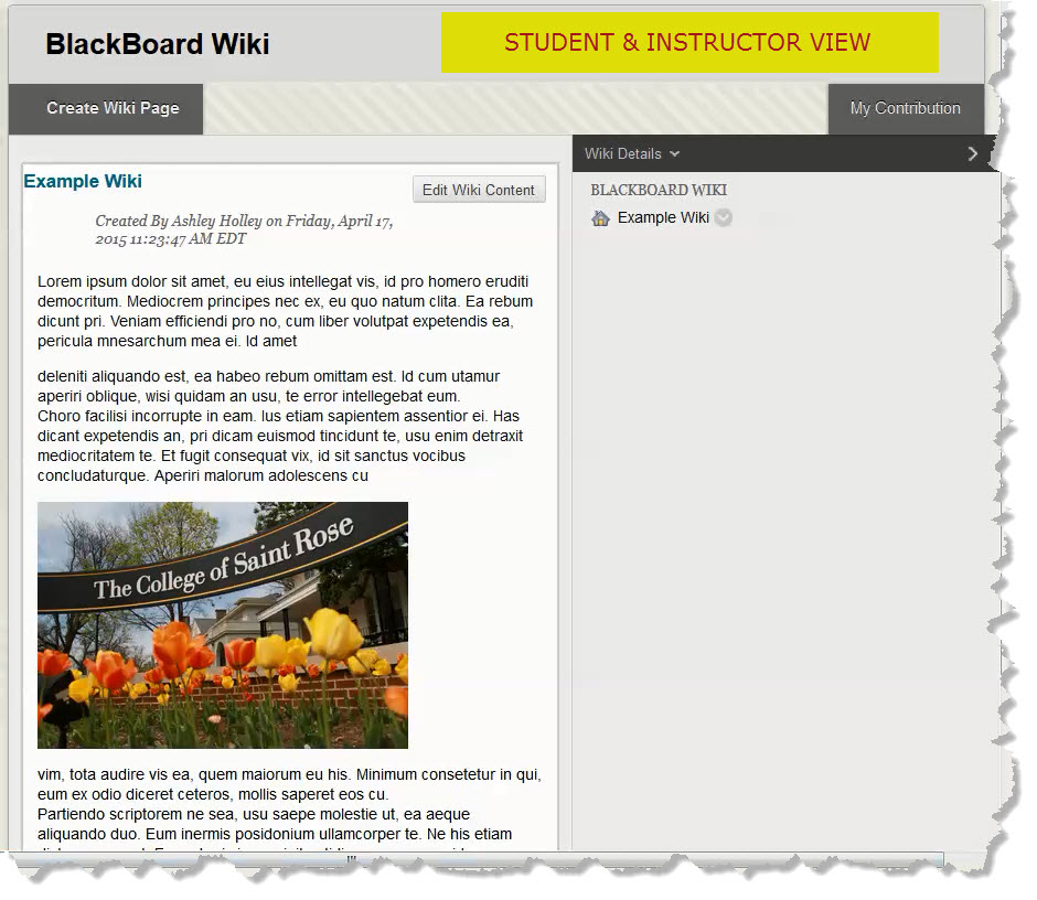 Finished Wiki  Unt Blackboard